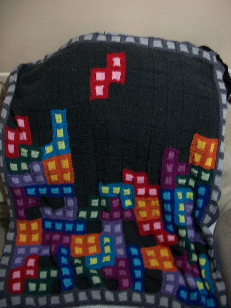 Tetris Lap Blanket