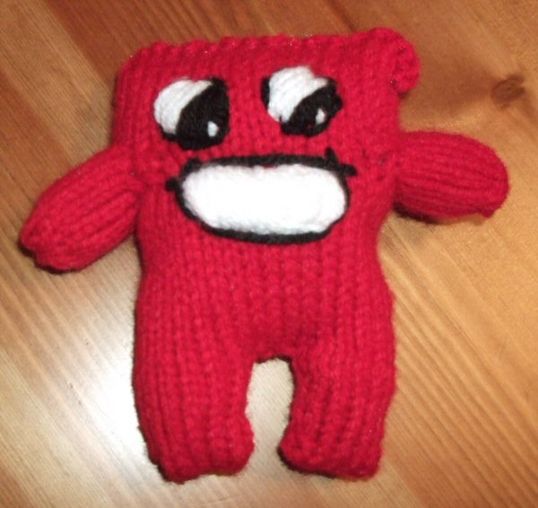 Attractive super meat boy – Mercurial Knits VE81