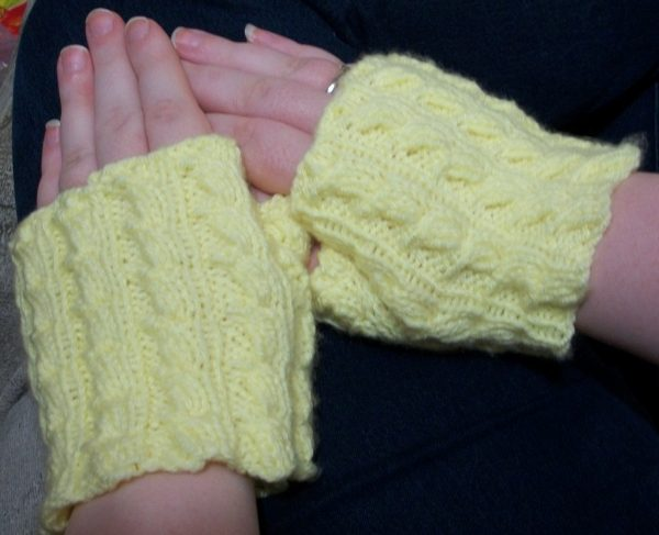 Ears of Sweetcorn Mitts